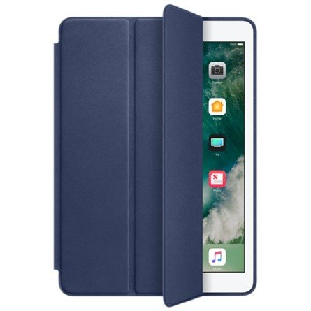 Smart Case Ipad Mini 1 2 3 Magnética Premium Azul Marinho