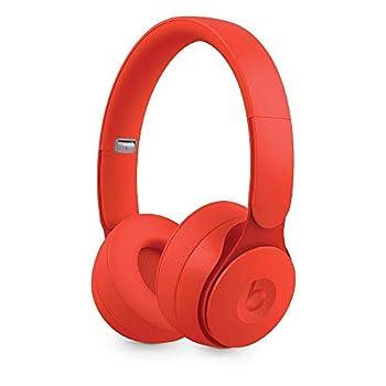 Beats Solo Pro Wireless Noise Cancelling On-Ear Headphones - Red  Renewed