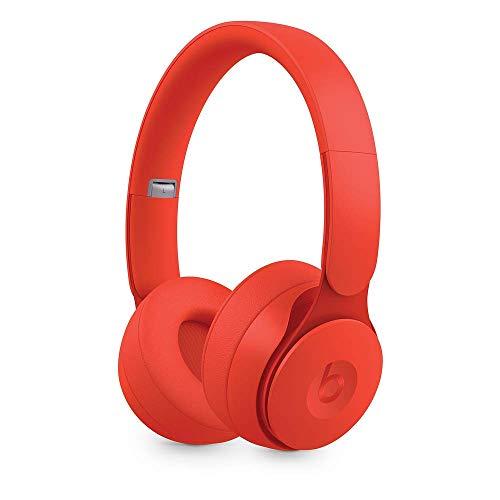 Beats Solo Pro Wireless Noise Cancelling On-Ear Headphones - Red (Renewed)