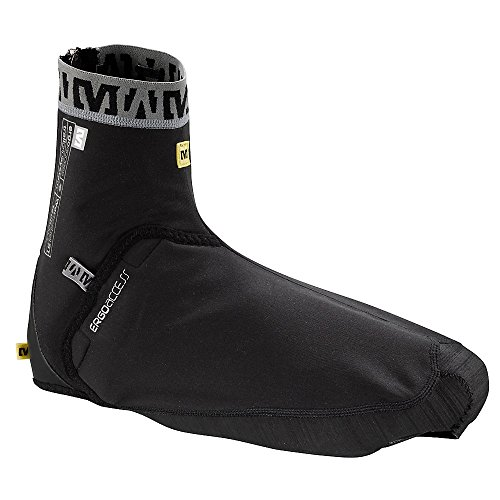 MAVIC Couvre-Chaussures Trail Thermo Vêtements Vélo Homme Noir Taille M (39 1/3-42)