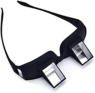 Prism Glasses Horizontal Glasses Lazy Spectacles Lie Down for Reading/Watching TV