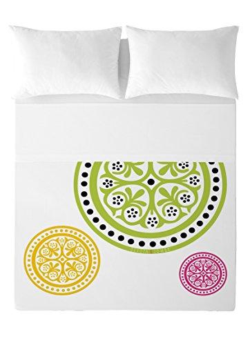 Devota & Lomba Ander Juego de sábanas, Algodón, Multicolor, 180 x 200 cm