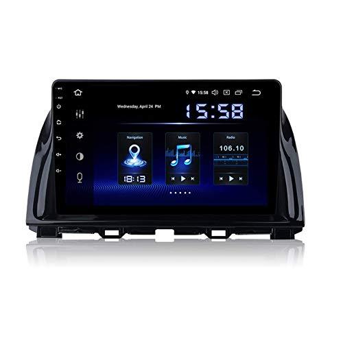 WHL.HH GPS Navegación Multimedia Jugador para Mazda CX 5 2013-2015 Auto Auto Android 10.0 Radio Estéreo Video Receptor Direccion Rueda Control Auto Jugar / 4G WiFi/Dab/SWC