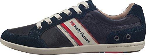 Helly Hansen Helly Hansen Kordel Leather Herren Sneakers, Blau (Navy / Natura / Sperry GU 597), 44 EU