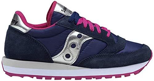 Saucony Jazz Original, scarpe per ellittica, da donna, (Blue Pink), 37 EU