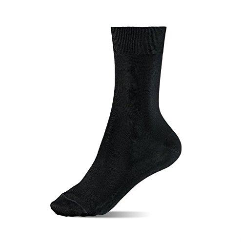 Alpensocken® Spezial Silber Socken Anti-Geruch Anti-Schweiß Sport Business Casual (36-40) 3-Pack