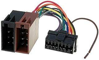 Sound Way Adapterkabel ISO Stecker kompatibel mit Autoradio Pioneer 16 polig