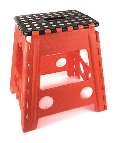 Pusher DOT Step Scaletta/Sgabello, Multicolore, 38x22x39 cm