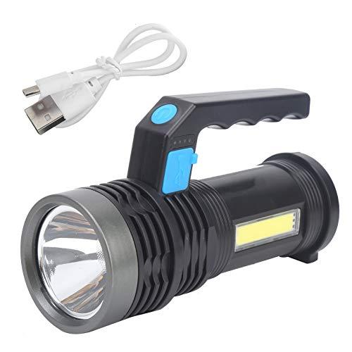 01 Linterna de Largo Alcance, protección contra la Lluvia, Reflector de Mano Conveniente para Usar, para Viajes a casa