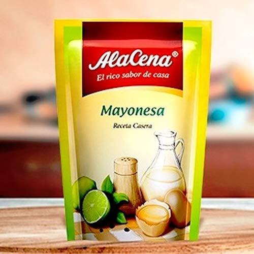 AlaCena – Mayonaise Voor het op smaak brengen van het lekkerste vlees en salades – Pak 3 Zakjes van 85g (3×85)