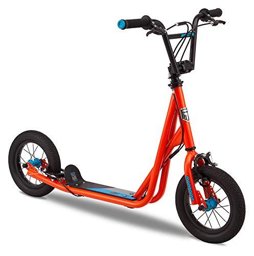 Mongoose Trace Air Kick Scooter, Orange