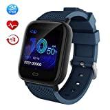 Smart Watch Fitness Tracker Dinaro, Waterproof Activity Tracker Watch with Heart Rate Blood