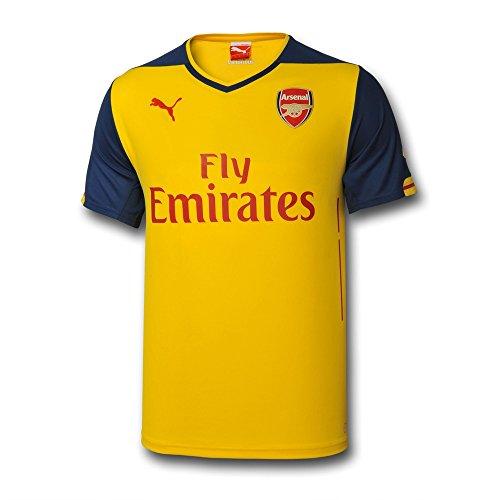 Arsenal 2009 Away Jersey Yellow (XL)