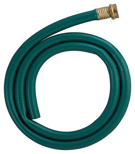 LDR Industries 504 1300 Garden Dehumidifier Drain Hose, 5ft, Green Rubber Finish, 5'