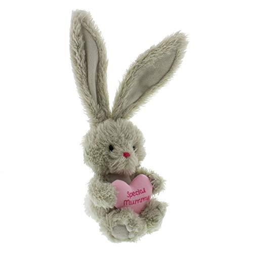Widdop Bingham La felpa del conejo Bebunni con 35cm del corazón - Momia