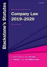 Blackstone's Statutes on Company Law 2019-2020 (Blackstone's Statute Series)