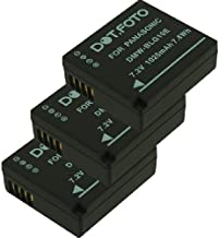 Dot Foto DMW-BLE9  DMW-BLE9E  DMW-BLG10  DMW-BLG10E PREMIUM Replacement Rechargeable Camera Battery for Panasonic  See Description for Compatibility