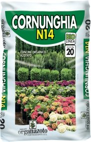 N.G.Niccolai CORNUNGHIA CONCIME Naturale da 20 kg - ORGANAZOTO