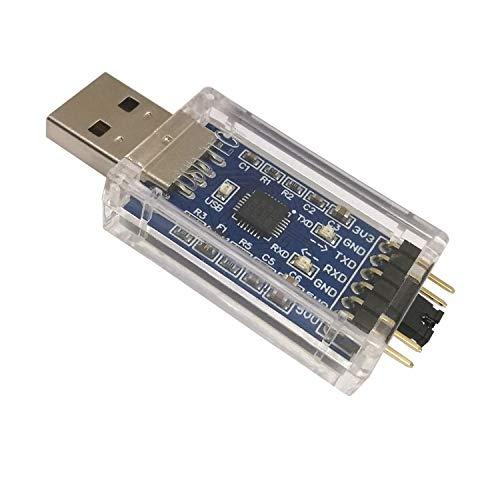 DSD TECH USB zu TTL Konverter mit CP2102 Chip Kompatibel mit Windows 7, 8, 10, Linux, Mac OS X