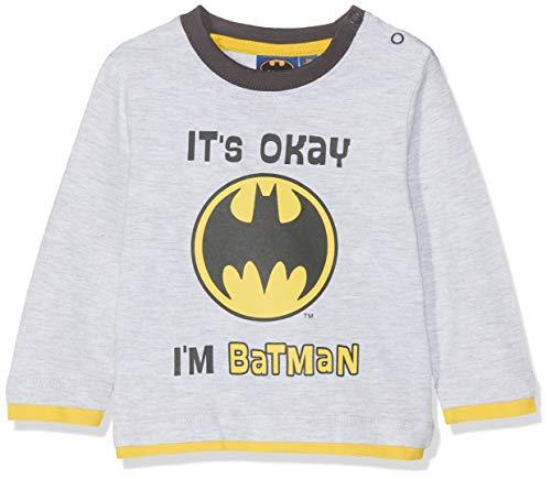 Batman Baby-Mädchen 2544 T-Shirt, Grau (Grau), 3-6 Monate