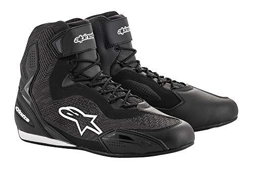 Alpinestars Motorradstiefel Faster-3 Rideknit Shoes Black, 45