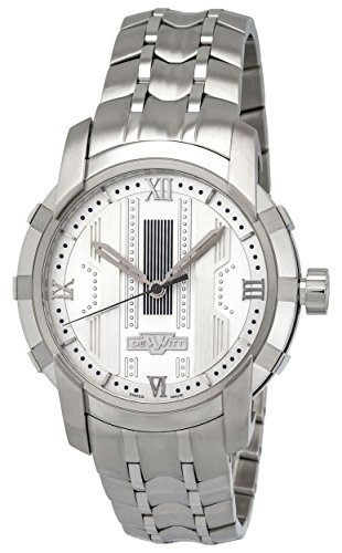 Dewitt Glorious Knight Automatic Steel Mens Watch Silver Dial FTV.HMS.002.S