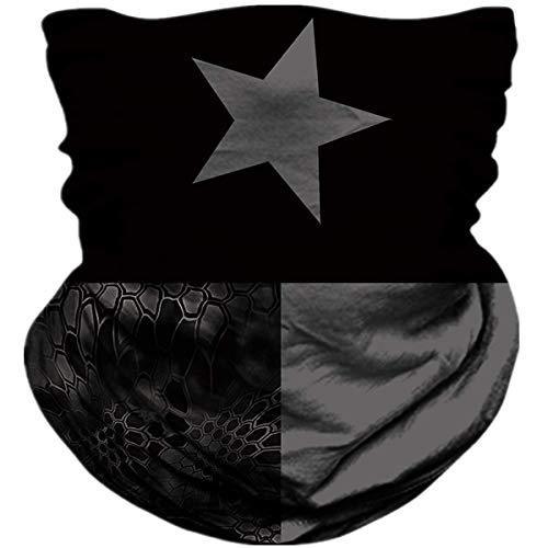Mj-Shop Bufanda protectora para el cuello, pañuelo, máscar