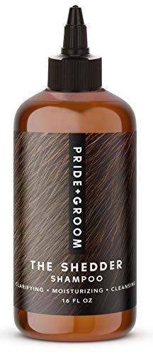 PRIDE AND GROOM - The Shedder, Bottle of Pet Shampoo, 16 oz.