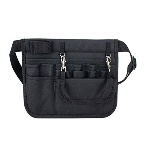 Nurse/Medical Waist Bag with Stethoscope Holder.Nurse/Medical Organizer Belt with 13-Packets