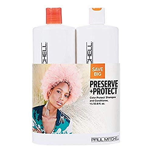 Paul Mitchell Preserve And Protect Color Protect Liter Duo Set