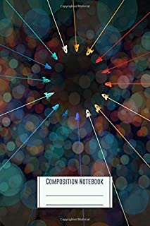 Composition Notebook: Team Rocket Circle Workbook for Girls Kids Teens Students for Back to School