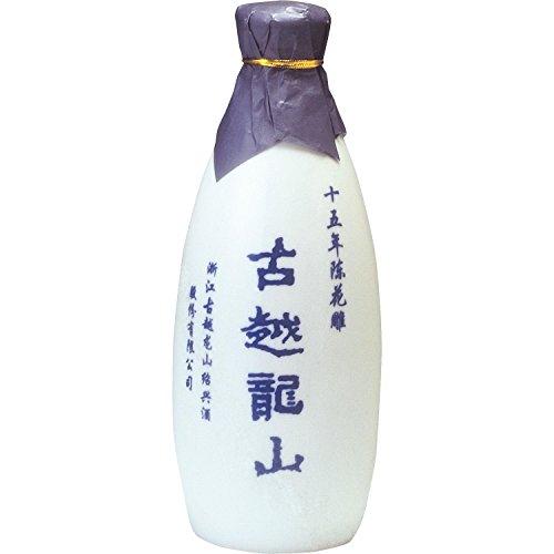 紹興酒 古越龍山 15年 景徳鎮ボトル 箱入り [ 500ml ]
