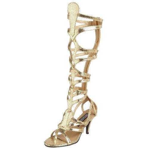 Funtasma GODDESS-12 Damen Sandalette, Gold Met Snake Pu, 38