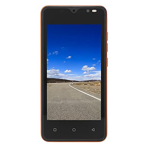 Smartphone Ultra Sottile X70 Mini, Telefono Cellulare con Schermo HD da 4,66 Pollici, Doppia Scheda Telefono Sbloccato in Standby Doppio, CPU Dual-Core MTK6572, Doppia Fotocamera (Arancia)