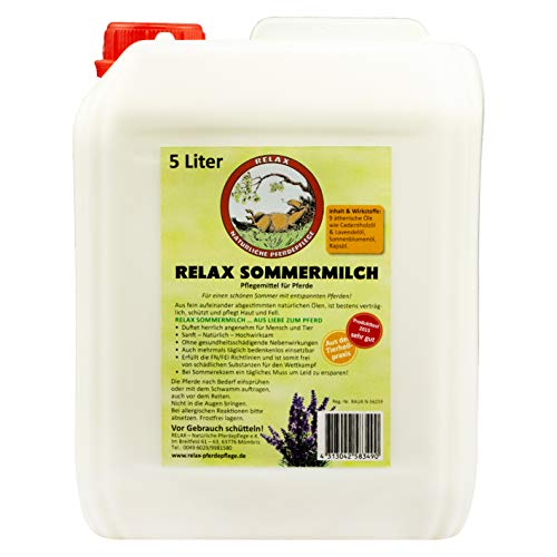 Relax Sommermilch 5 Liter Pferdehautpflege bei Insektenbefall