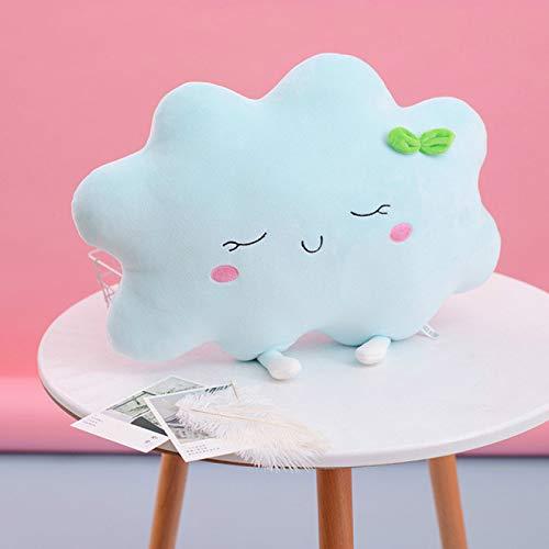 Alexny Cuscino in Peluche, Simpatico Cuscino in Peluche per Bambini Che Dorme a Forma di Nuvola di Sole Decorazione Auto Cuscino per Divano per Allattamento Regalo Ragazza