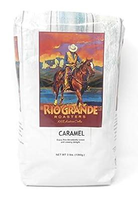 Rio Grande Roasters Caramel Whole Bean Coffee 3 Pound Bag