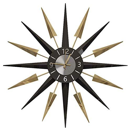 Orologi da Parete Nordic Classic Meteor Soggiorno Art Atmosfera personalità Moderno Minimalista Casa Creativo Orologio Muto 22 Pollici, A, 22 Pollici