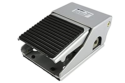 """TEMCo Foot Pedal Control Valve 2 Position 3 Port 1/4"""" NPT Air Pneumatic Switch 5 YEAR WARRANTY from TEMCo"""