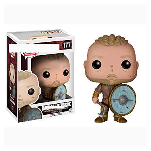 A-Generic Figura Bobblehead, Juegos Pop: Personaje de la Serie de televisión Vikings Pop, Estatua de Juguetes de Modelos coleccionables de Ragnar Lothbrok
