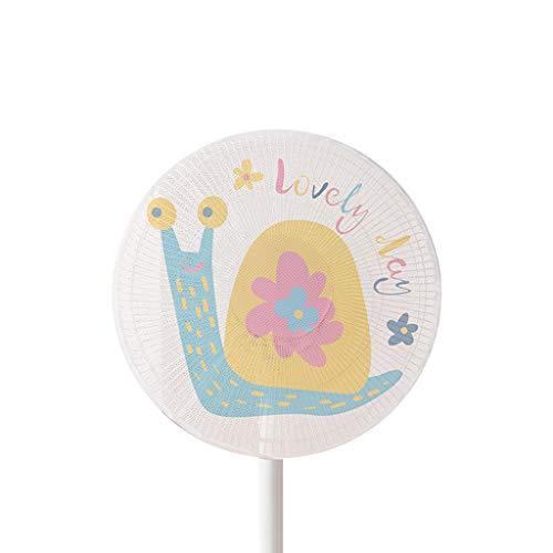 BUIDI Cubierta para ventilador eléctrico de dibujos animados para bebés y niños, protector de dedos de malla de seguridad, cubierta para ventilador eléctrico grande