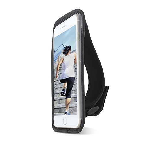 Gear Beast Sports Hand Held Running Case Pouch for Galaxy S9 S9 Plus S8 S8 Plus Note 9 8 iPhone X Xr Xs Max 8 Plus 7 Plus 6s+ Without A CASE Cell Phone Holder for Running Jogging Workout Fitness