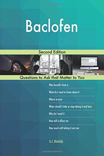 Baclofen; Second Edition
