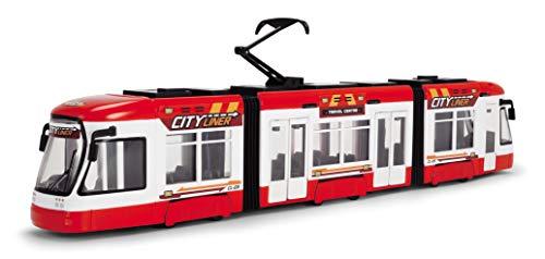 Dickie Toys 2.03749E+11 City Liner, Straßenbahn, Tram, Zug, 46 cm, rot