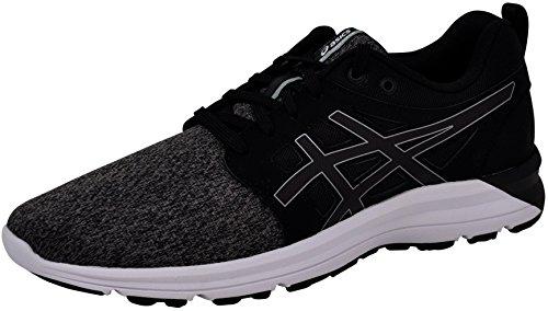 ASICS Women's Torrance Running Shoe, Black/Stone Grey, 8.5 B(M) US