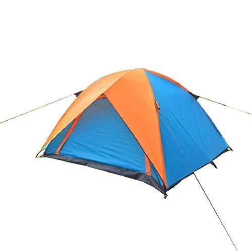 RYP Guo Outdoor Products Outdoor Convient pour 3-4 Personnes Utilisez des tentes, Camping Portable Camping Beach Tentes de Loisirs, Oxford crème Solaire imperméable à l'eau de Tissu,3-4 Personne,Bleu
