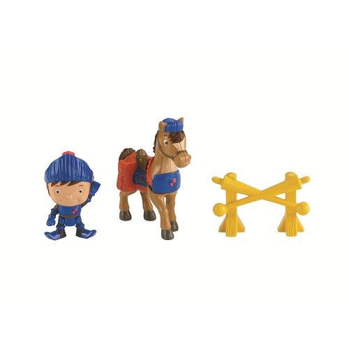 Fisher-Price–y8367–Figur–Mike Und Sein Pferd Galahad