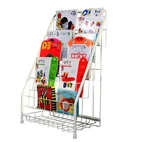 Liuhoulin Estantería para niños estantería de Hierro Forjado Libros estanterías estantería de...