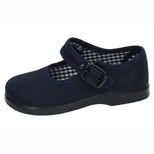 MADE IN SPAIN 951 Zapatillas Lona Azul NIÑA Zapatillas Marino 20
