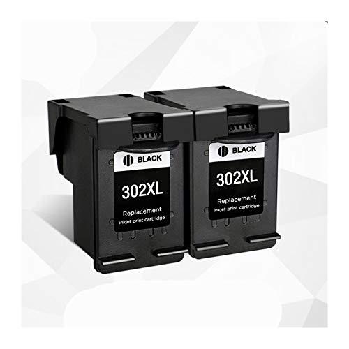 Cartuchos de la impresora Remanufactured 302xl Piezas de repuesto para DeskJet 1110 1111 1112 2130 2131 Impresoras, adecuadas para HP 302 HP302 XL Cartuchos de tinta Cartucho de tinta ( Color : 2bk )